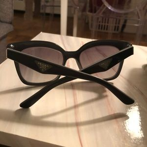 Gray Prada Sunglasses